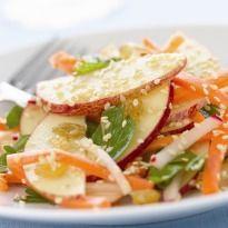 Sesame, apple salad