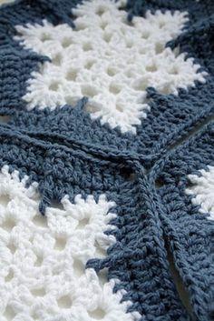 Snowflake hexagons