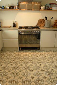 Vloeren on pinterest cement tile and vans - Oude patroon tegel ...