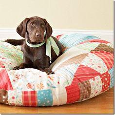DIY Dog Bed-