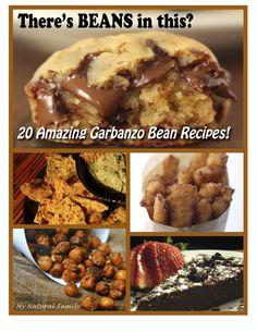 Garbanzo Bean Recipes - (aka Chickpea Recipes) - MyNaturalFamily.com #garbanzobean #chickpea #recipes #grainfree #glutenfree