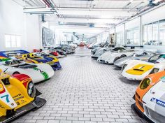 Inside Porsches Secret Prototype Warehouse in Germany