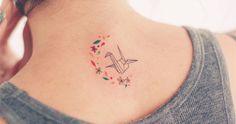 subtle, small, feminine tattoos by seoeon.