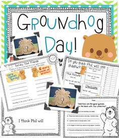 First Grade Blue Skies: Groundhog Day {FREEBIE} and a little of my week
