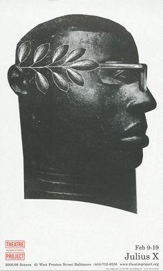 David Plunkert / Julius X poster