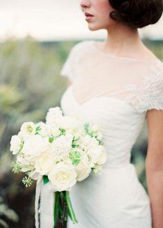 wedding dressses, bridal bouquets, bridal looks, wedding bouquets, the dress