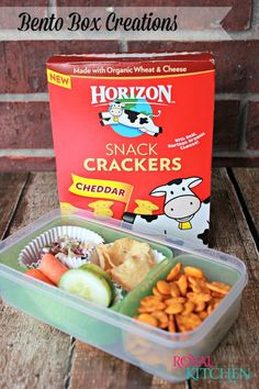 Back to School Bento Box Creations   #HorizonB2S #recipes #bentobox #school