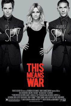 Two top CIA operatives wage an epic battle against one another after they discover they are dating the same woman.