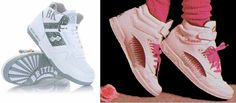 That British Knights and L.A. Gear made the coolest shoes.   50 Things Only '80s Kids Can Understand