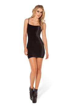 Velvet Strap Dress by Black Milk Clothing $90AUD