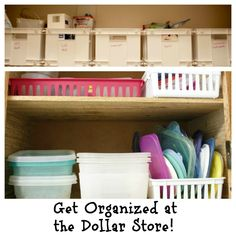 dollar store organization