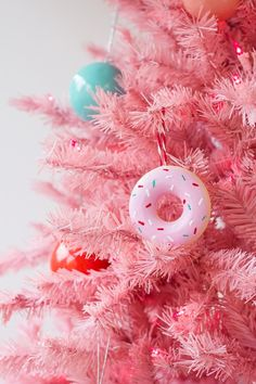 There's still time to make your own DIY doughnut ornaments.