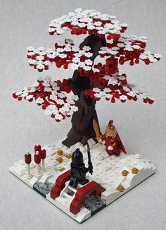game of thrones legos, lego trees