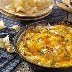 Chesapeake Crab Dip ~ a Taste of Home recipe.