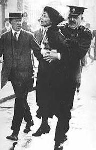 In 1889 Emmeline Pankhurst founded the Women's Franchise League, followed by the Women's Social and Political Union in 1905. She was joined by her daughters Christabel and Sylvia among others in the fight for Women's Suffrage. Pankhurst's tactics for drawing attention to the movement led to her being imprisoned several times, and even experienced force-feeding after going on hunger strike several times. She was also instrumental in placing women in men's jobs during World War 1. She received ...