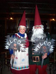 Mr. and Mrs. Gnome!