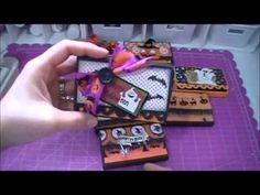 ▶ Halloween Treat Box Tutorial - YouTube