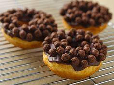 Cocoa Crunch Donuts Recipe by Betty Crocker Recipes, via Flickr