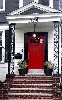 Red Door Black Trim