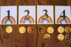 Montessori-Inspired St. Patrick's Day Math Activities
