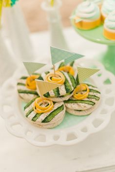 Gender Neutral Baby Shower Party Food Ideas