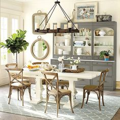 Dining room decorating ideas on pinterest dining rooms for Ballard designs dining room
