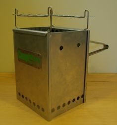 Wood gasification stove