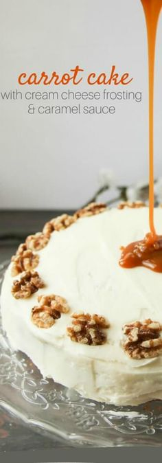 Carrot Cake with Cre