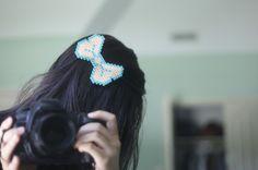hello, whimsy.: Perler Bow Pins