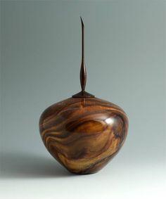 Walnut Turned Wood Art