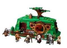 Bag End Lord of the Rings Lego set.