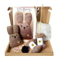 Bunny Mini Knit Kit.