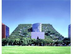 terrac, green roofs, fukuoka build, living walls, japan, acro fukuoka, urban gardening, buildings, green architectur