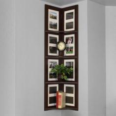 4-Tier Hanging Corner Picture Shelf