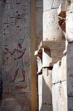 Última sala del templo de Hatshepsut