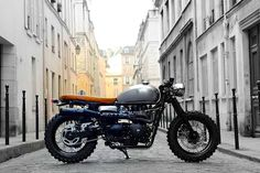 Triumph Cafe Racer 7, Cafe-Tracker by Vintage Racers #cafeRacer