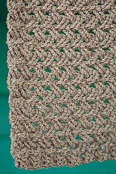 Neat cable pattern - Pinebark Scarf - Crochet Me