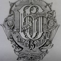 Lettering by davesmithartist