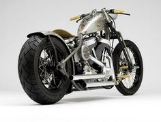 Brass Balls Bobber Motorcycle