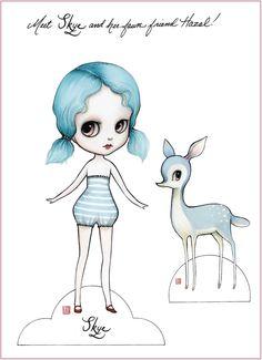 girl paper, paper dolls