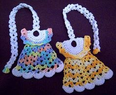 Darling Little Dresses Bookmark