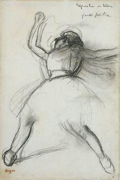draw process, danc art, de artista, dega ballet, art educ, dega draw, edgar degas, dancer, buff paper