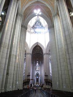 Interior of Sé Cathedral