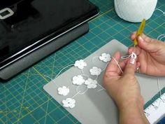 Mini 5-Petal Crochet Flower Tutorial