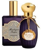 "Annick Goutal Mandragore Pourpre ~ new fragrance/ As previously reported, the new variation is stronger and darker than the original and is intended for winter wear; it's also ""….spicier, more aromatic, with notes like pepper and anise"". The fragrance notes include bergamot, mint, star anise, amber, rosemary, geranium, black pepper, patchouli, myrtle, incense and heliotrope."