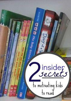 2 insider secrets for motivating your kids to read