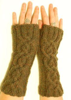 Vancouver Fog Fingerless Gloves