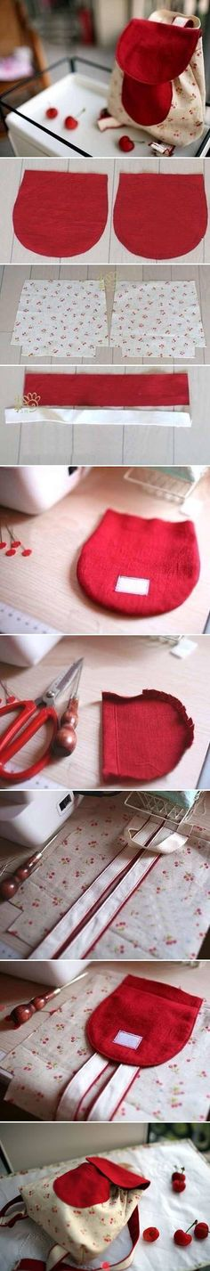 Little bag without wird pocket