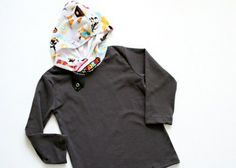Tutorial: Add a Cuddle™ hood to a t-shirt by @Sewing Mama RaeAnna