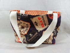 Halloween Candy Bag Tote Elixir Labels Toddler by WhimsyStitchery, $11.00 #tbec #handmade #accessorie #handbag #tote